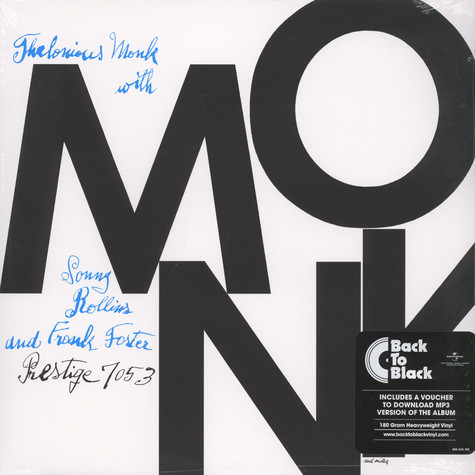 Thelonious Monk Quintet - Monk Back To Black Edition