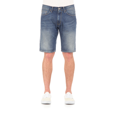 Carhartt WIP - Vicious Short 'Madera' Blue Denim, 12 oz