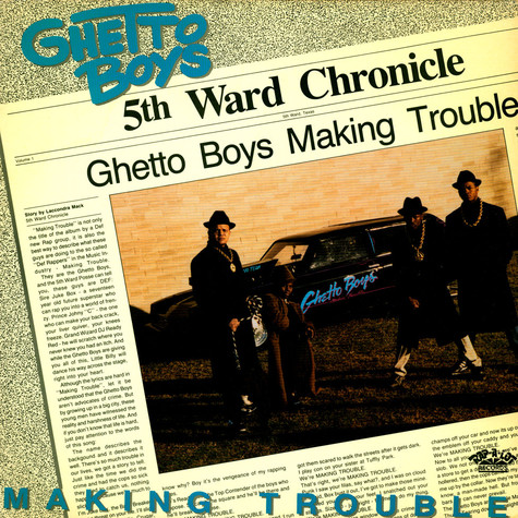 Geto Boys - Making Trouble