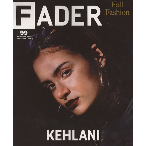 Fader Mag - 2015 - August / September - Issue 99