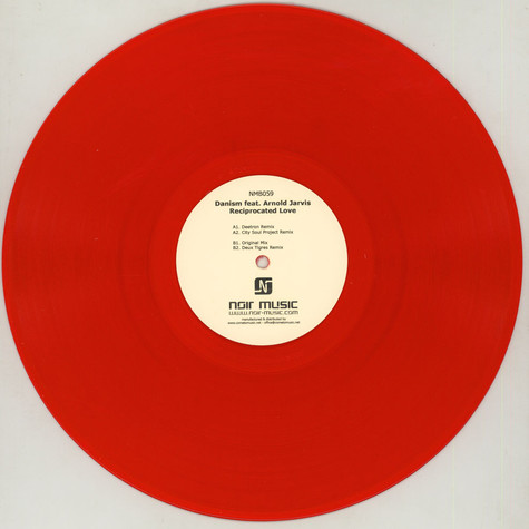 Danism - Reciprocated Love feat. Arnold Jarvis Red Vinyl Version