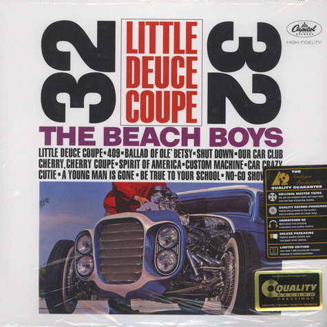 Beach Boys, The - Little Deuce Coupe 200g Vinyl, Mono Edition