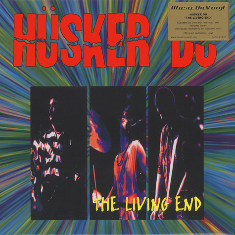 Hüsker Dü - Living End Coloured Vinyl Edition