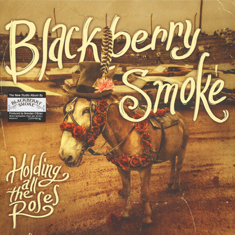 Blackberry Smoke - Holding All The Roses Red / Yellow Vinyl Edition
