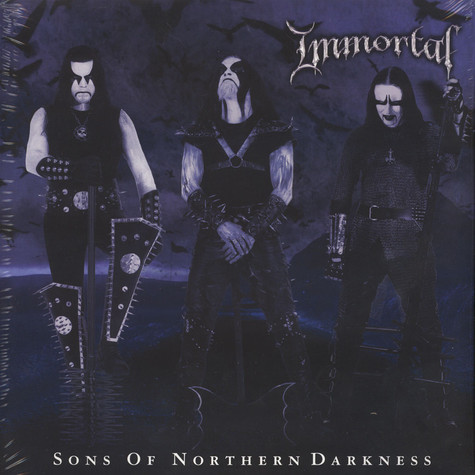 Immortal - Sons Of Northern Darkness White / Black Marbled Vinyl Edition