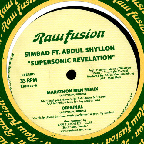 Simbad feat. Abdul Shyllon / Steelo - Supersonic Revelation / Soul Fever