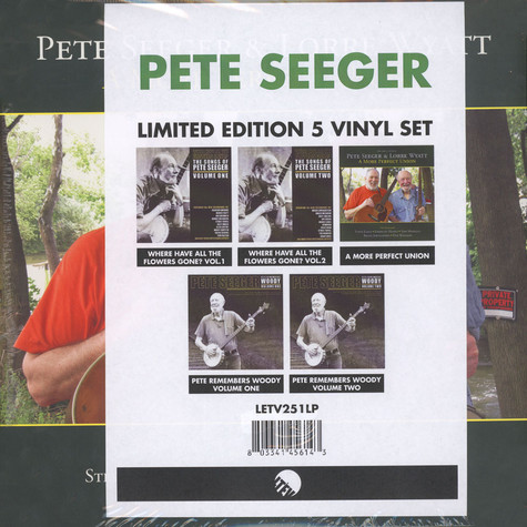 Pete Seeger - Limited Edition Vinyl Set