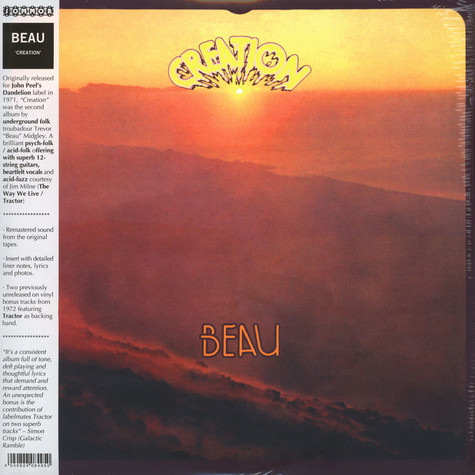 Beau - Creation