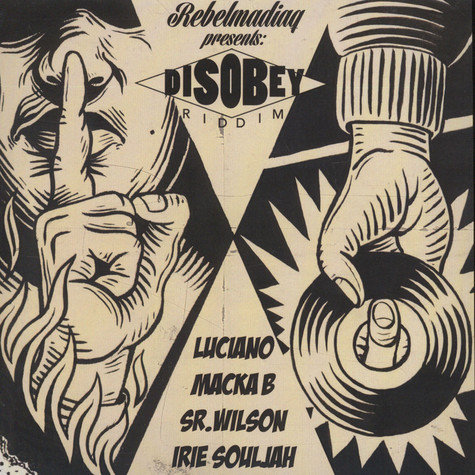 Rebelmadiaq Sound - Disobey Riddim