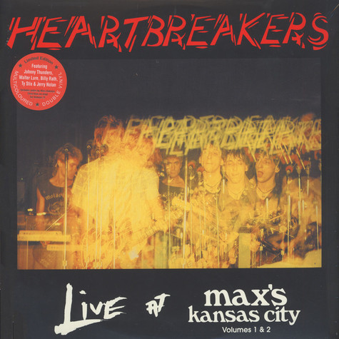 Heartbreakers - Live At Max's kansas City Volumes 1 & 2