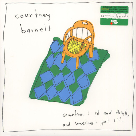 Courtney Barnett - Sometimes I Sit & Think, & Sometimes I Just Sit Orange Vinyl Edition