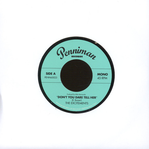 Excitements, The - Don't You Dare Tell Her
