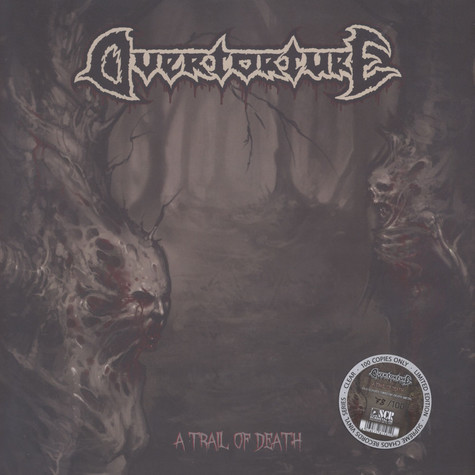 Overtorture - A Trail Of Death Clear Vinyl Edition
