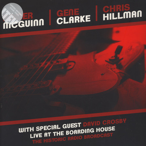 Clark & Hillman McGuinn - Live At The Boarding House