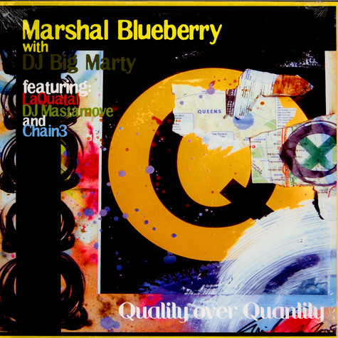 Marshal Blueberry With DJ Big Marty - Quality Over Quantity