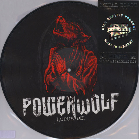 Powerwolf - Lupus Dei Picture Disc