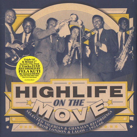 V.A. - Highlife On The Move: Selected Nigerian & Ghanaian Recordings from London & Lagos 1954-66