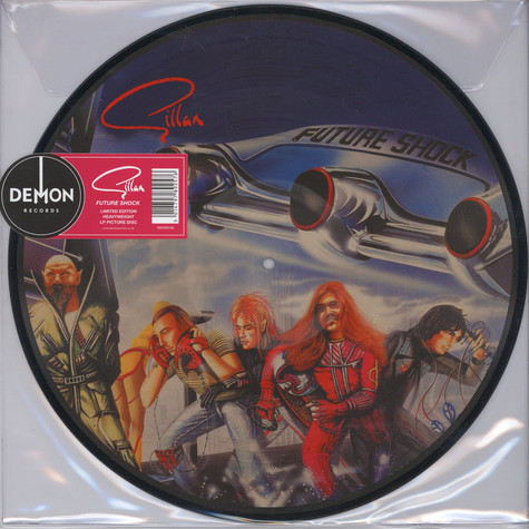 Gillan - Future Shock Picture Disc