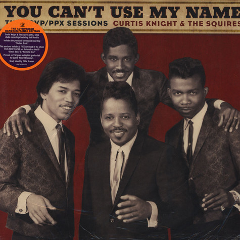 Curtis Knight & The Squires with Jimi Hendrix - You Can't Use My Name