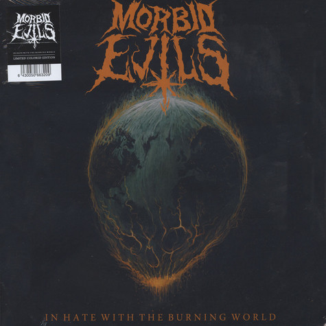 Morbid Evils - In Hate With The Burning World Splatter Vinyl Edition