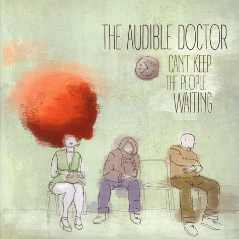 Audible Doctor, The - Can't Keep The People Waiting Multi Color Vinyl EP