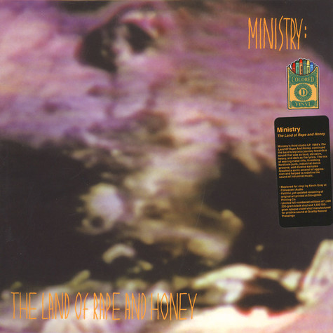 Ministry - The Land Of Rape & Honey Colored Vinyl Edition