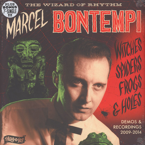 Marcel Bontempi - Witches, Spiders, Frogs & Holes - Demos & Recordings 2009-2014