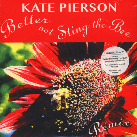 Kate Pierson (of The B-52s) - Don't Sting The Bee