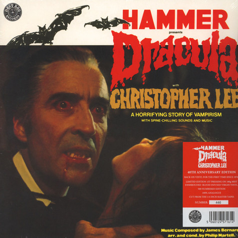 James Bernard with Christopher Lee - OST Hammer Presents Dracula