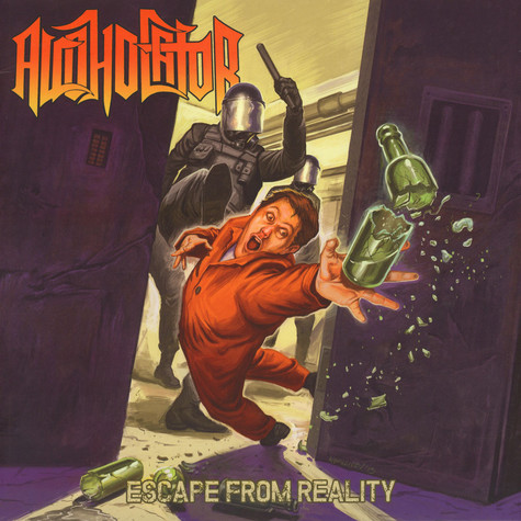Alcoholator - Escape From Reality Black Vinyl Edition