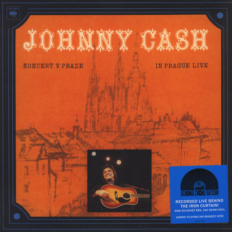 Johnny Cash - Koncert v Praze (In Prague- Live)