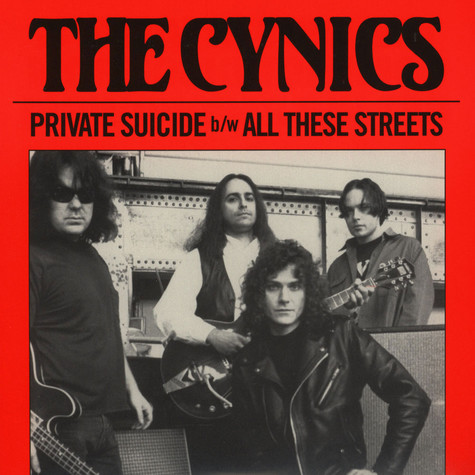 Cynics, The - Private Suicide / All These Streets Black Vinyl Edition