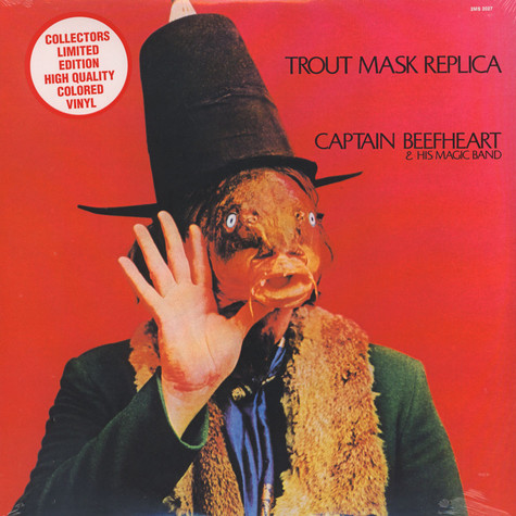 Captain Beefheart - Trout Mask Replica Colored Vinyl Edition