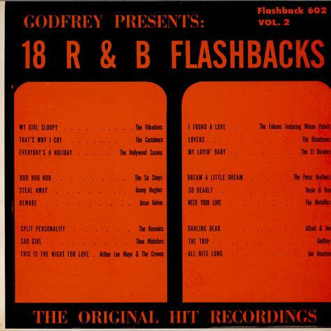 V.A. - Godfrey presents: 18 R & B Flashbacks