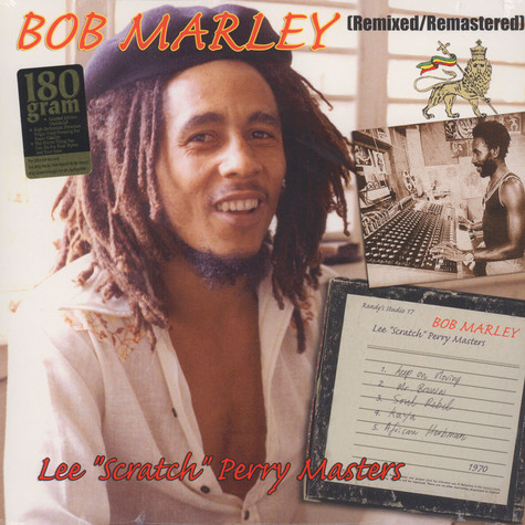 Bob Marley - Lee Scratch Perry Masters 180 Gram Vinyl Edition