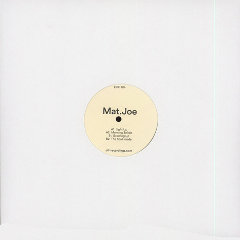 Mat.Joe - Light Up EP