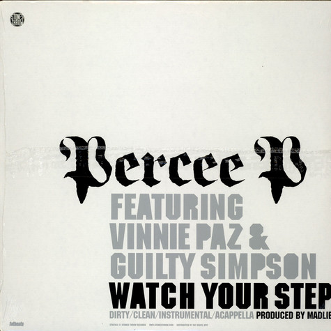 Percee P Featuring Vinnie Paz & Guilty Simpson - Watch Your Step