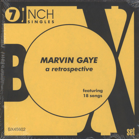 Marvin Gaye - 45RPM Collection