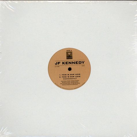 JF Kennedy - This Is Our Love