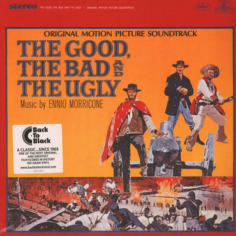 V.A. - OST The Good, The Bad And The Ugly Back To Black Edition