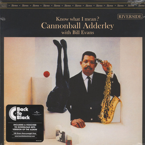Cannonball Adderley / Bill Evans - Know What I Mean Back To Black Edition