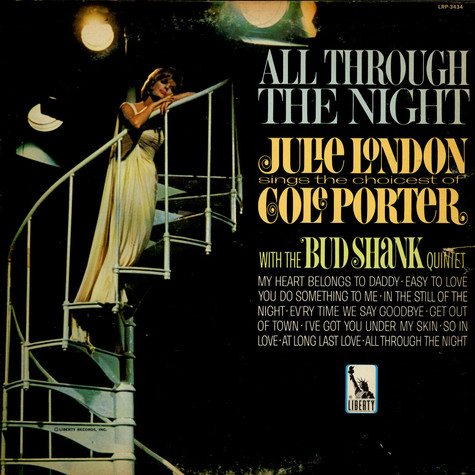 Julie London With Bud Shank Quintet, The - All Through The Night