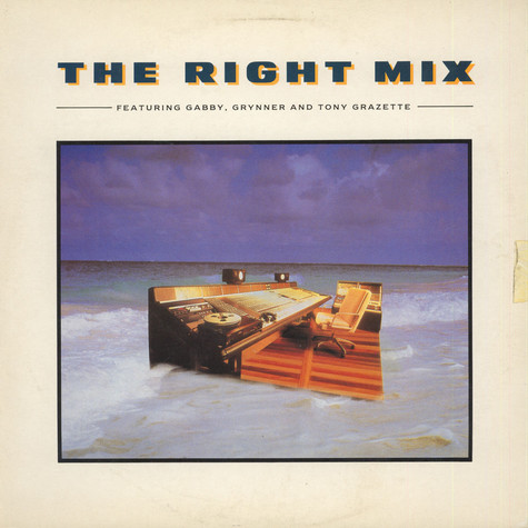 "Anthony ""Gabby"" Carter, Grynner & Tony Grazette - The Right Mix"