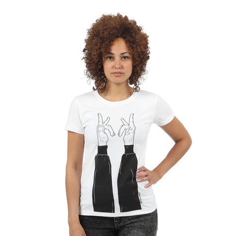 Kraftklub - Finger In Schwarz Women T-Shirt