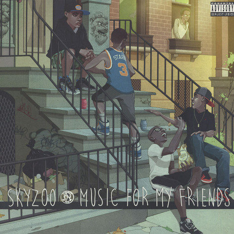 Skyzoo - Music For My Friends Green Vinyl Edition
