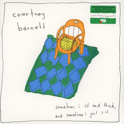 Courtney Barnett - Sometimes I Sit & Think, & Sometimes I Just Sit Black Vinyl Edition