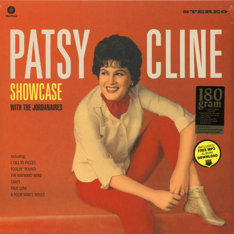 Patsy Cline - Showcase With The Jordanaires