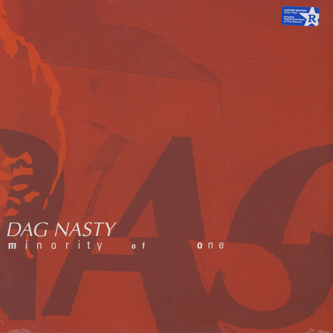 Dag Nasty - Minority Of One Gold Vinyl Edition