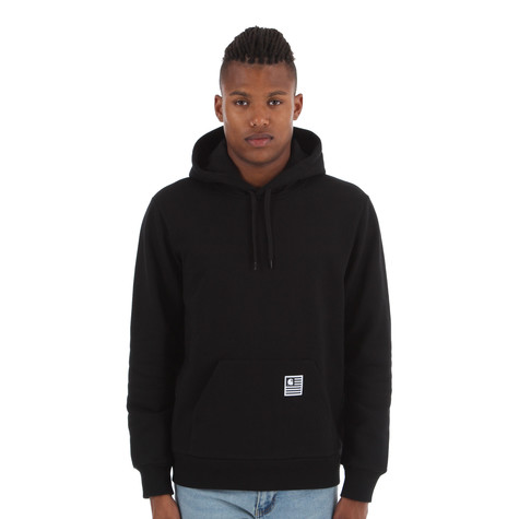 25bd181f Carhartt WIP - Hooded State Flag Sweater (Black / White) | HHV