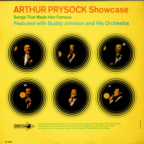 Arthur Prysock - Showcase
